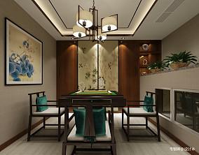 热门131平米中式别墅休闲区装修欣赏图片别墅豪宅中式现代家装装修案例效果图
