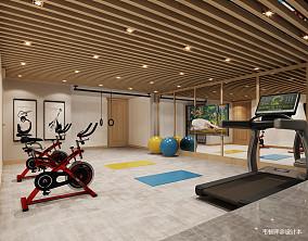 优雅343平中式别墅装饰图别墅豪宅中式现代家装装修案例效果图