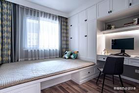 悠雅82平北欧二居卧室设计图二居北欧极简家装装修案例效果图