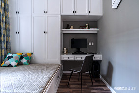 温馨63平北欧二居卧室实景图二居北欧极简家装装修案例效果图