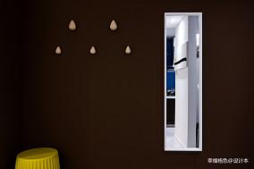 质朴56平北欧二居玄关图片欣赏二居北欧极简家装装修案例效果图