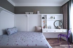 温馨61平北欧二居卧室效果图二居北欧极简家装装修案例效果图