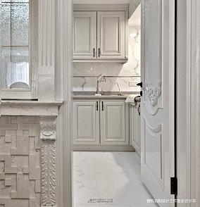精选四居厨房简欧实景图四居及以上北欧极简家装装修案例效果图