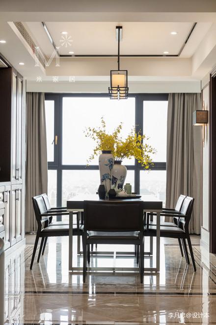 平中式四居餐厅设计图厨房