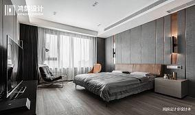 精美79平现代三居卧室装修图片