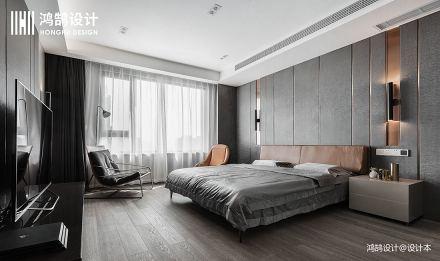 222㎡轻奢卧室设计图