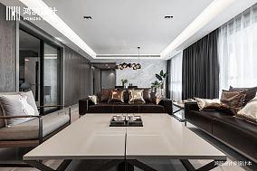 简洁96平现代三居客厅装修图三居现代简约家装装修案例效果图