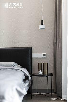 明亮112平现代三居卧室装饰美图三居现代简约家装装修案例效果图