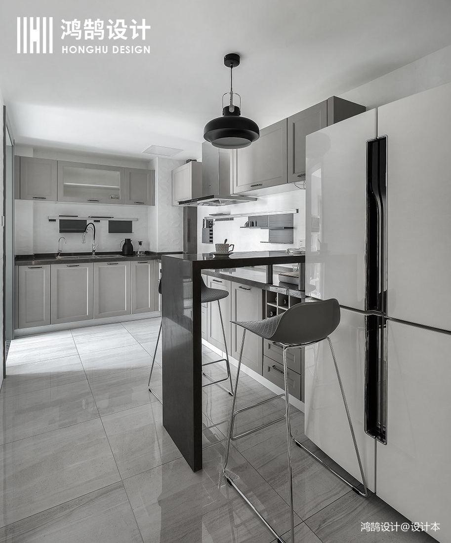 轻奢112平现代三居设计图功能区橱柜现代简约功能区设计图片赏析