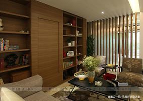 精美121平米现代别墅书房装修效果图片欣赏