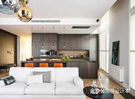 精美面积72平简约二居客厅装修欣赏图片