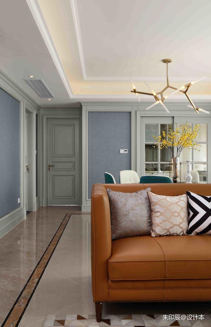 典雅115平混搭三居客厅装饰图客厅