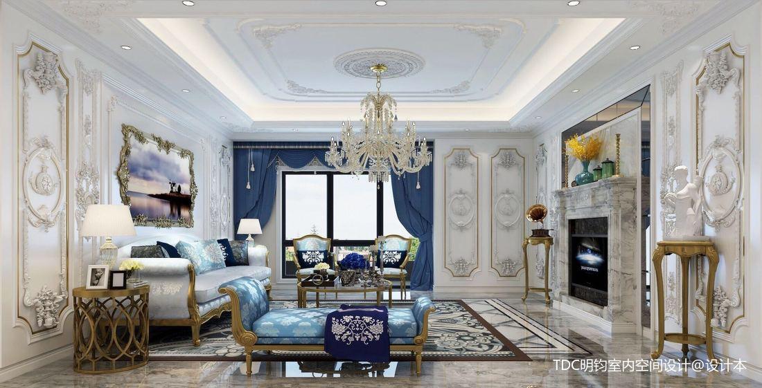 2018精选130平米别墅客厅装修欣赏图片客厅欧式豪华客厅设计图片赏析