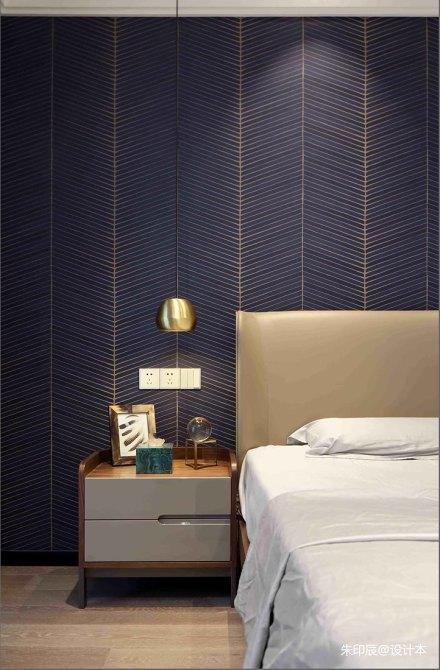 大气291平现代别墅卧室效果图欣赏卧室