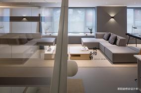 北欧轻奢Loft客厅设计图片