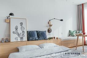浪漫23平简约小户型卧室装饰美图一居现代简约家装装修案例效果图