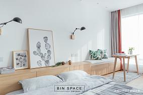 轻奢21平简约小户型卧室设计案例一居现代简约家装装修案例效果图