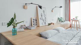 精致27平简约小户型卧室装修图一居现代简约家装装修案例效果图