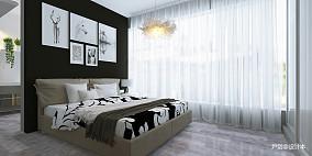 精选面积83平小户型卧室现代设计效果图