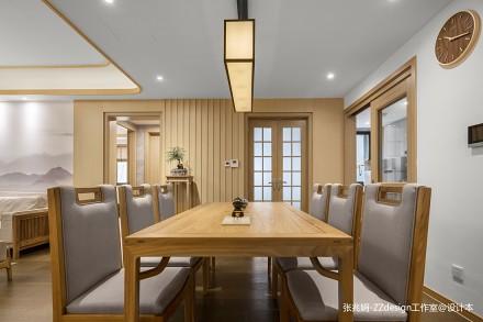 温馨145平中式四居餐厅图片欣赏