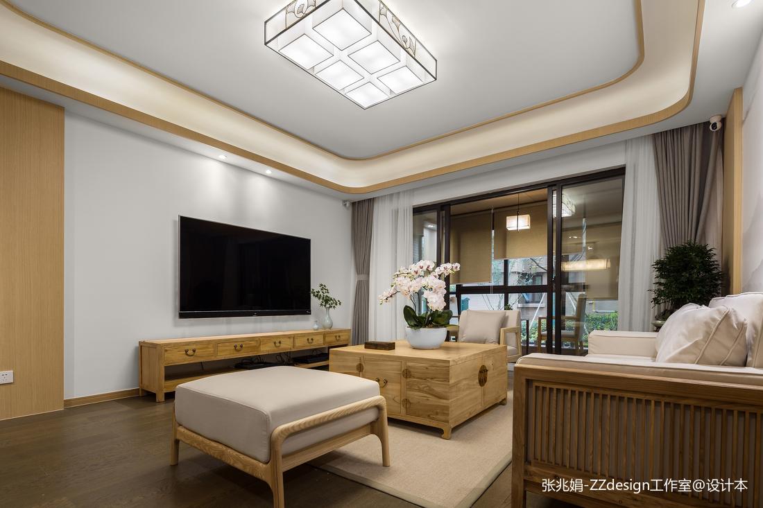 中式客厅电视背景墙