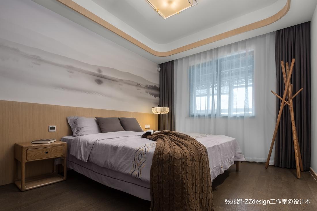 中式卧室墙纸