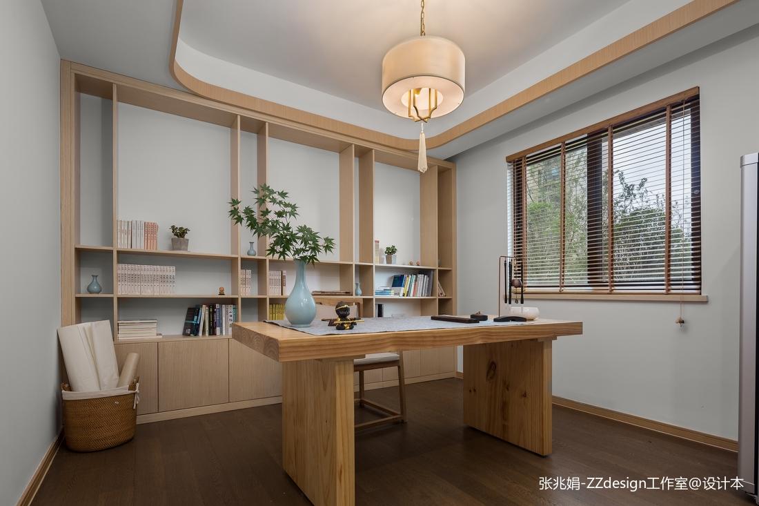 新中式书房样板房