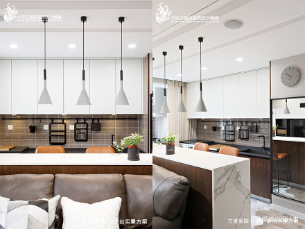 优雅25平现代小户型客厅设计图