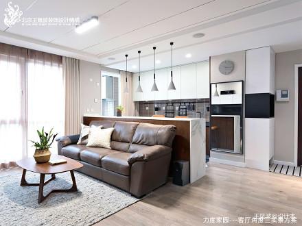 华丽35平现代小户型客厅效果图片大全一居现代简约家装装修案例效果图