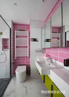热门面积111平别墅卫生间现代装修设计效果图片