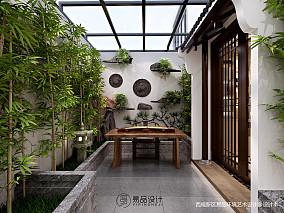 精选中式花园装修欣赏图片大全功能区中式现代设计图片赏析