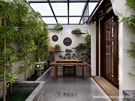 精选中式花园装修欣赏图片大全功能区