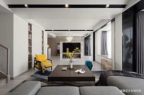 质朴360平简约复式客厅装修案例