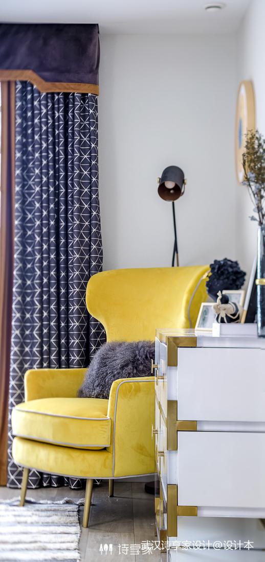 【诗享家出品】这个家把高级灰演绎得如此惊艳卧室2图现代简约卧室设计图片赏析