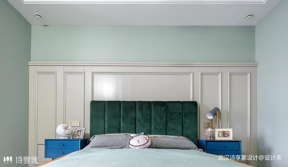 【诗享家出品】这个家把高级灰演绎得如此惊艳卧室7图现代简约卧室设计图片赏析