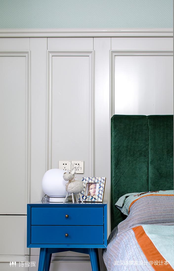 【诗享家出品】这个家把高级灰演绎得如此惊艳卧室8图现代简约卧室设计图片赏析