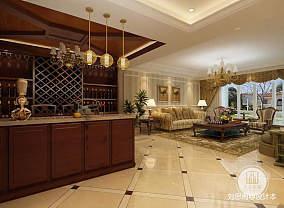 热门122平米新古典别墅客厅效果图