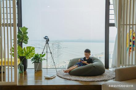 浪漫69平现代复式阳台设计图阳台