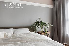 优美109平北欧三居装修装饰图三居北欧极简家装装修案例效果图