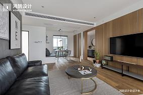 浪漫128平北欧三居设计案例三居北欧极简家装装修案例效果图