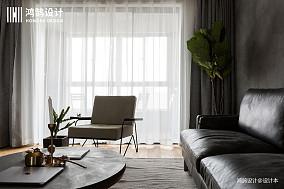 典雅116平北欧三居装潢图三居北欧极简家装装修案例效果图