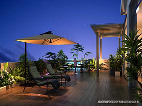 复式花园现代设计效果图