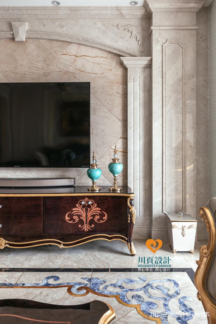 浪漫法式风情精致奢华优雅客厅欧式豪华客厅设计图片赏析