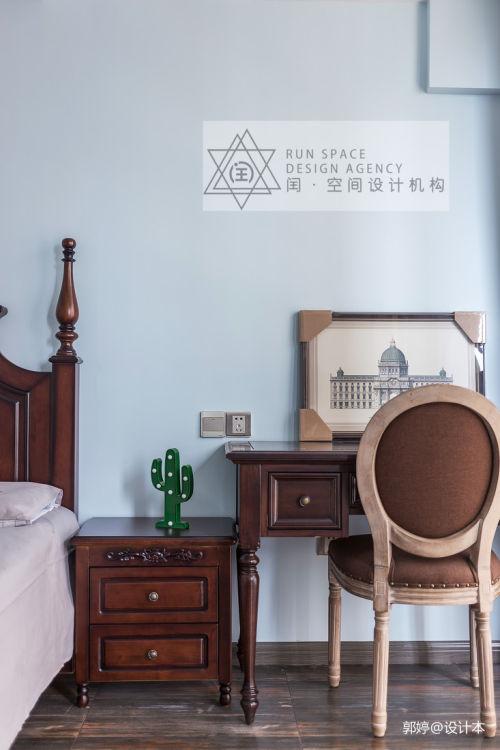精选复式卧室混搭装修图功能区121-150m²复式潮流混搭家装装修案例效果图