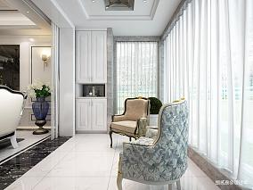 热门新古典四居阳台装饰图片阳台美式经典设计图片赏析