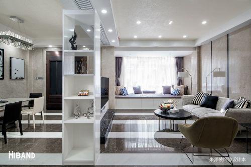 平方混搭别墅客厅装修设计效果图片201-500m²潮流混搭家装装修案例效果图