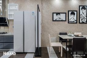 热门面积141平别墅餐厅混搭装修效果图片欣赏