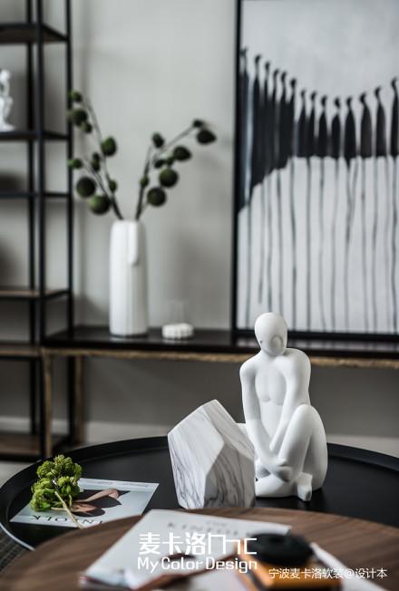精选面积115平复式客厅北欧装修设计效果图片欣赏