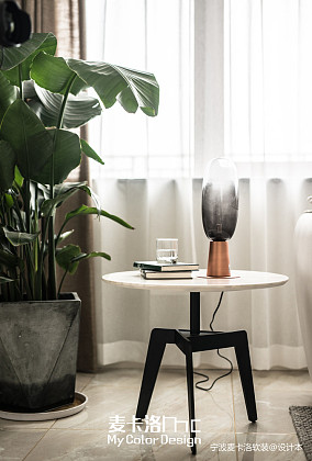 热门北欧复式客厅设计效果图