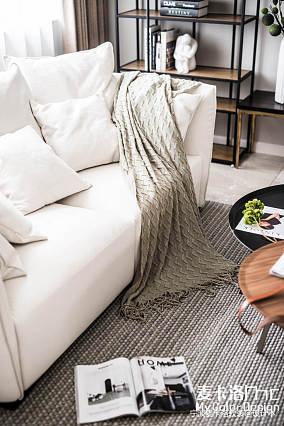 热门129平米北欧复式客厅效果图片